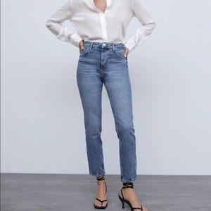 ZARA Premium Slim Ocean Blue Jeans